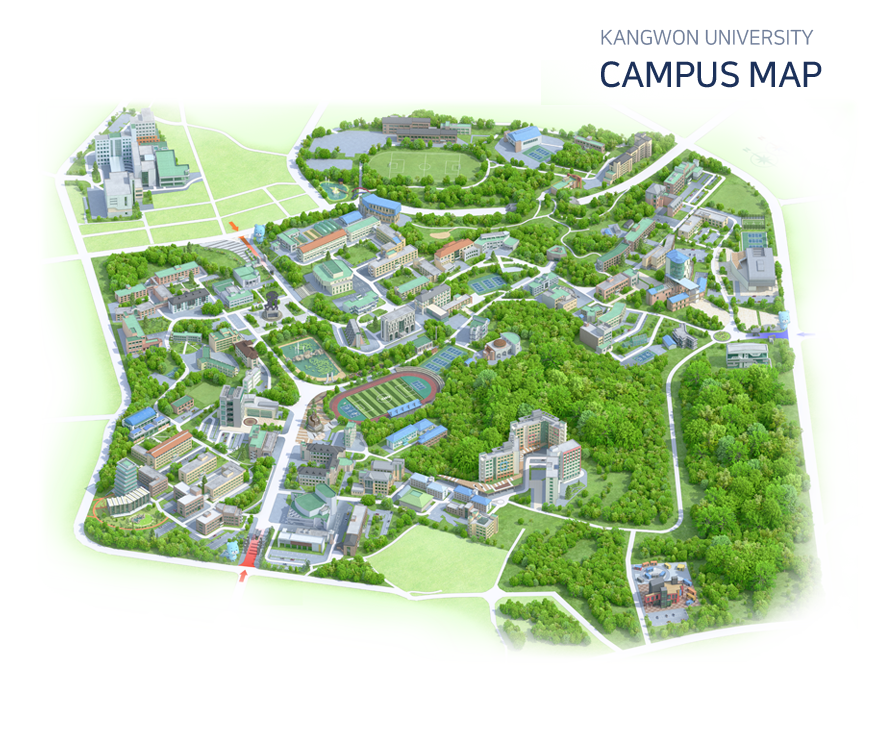 Campus Map Chuncheon