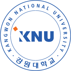 KNU 강원대학교 KANGWON NATIONAL UNIVERSITY